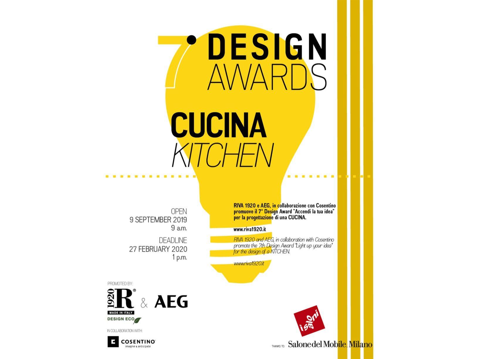 """7° Design Award """"Accendi la tua idea"""""""