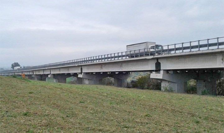 Viadotto Giustina. Foto: Autostrade per l'Italia