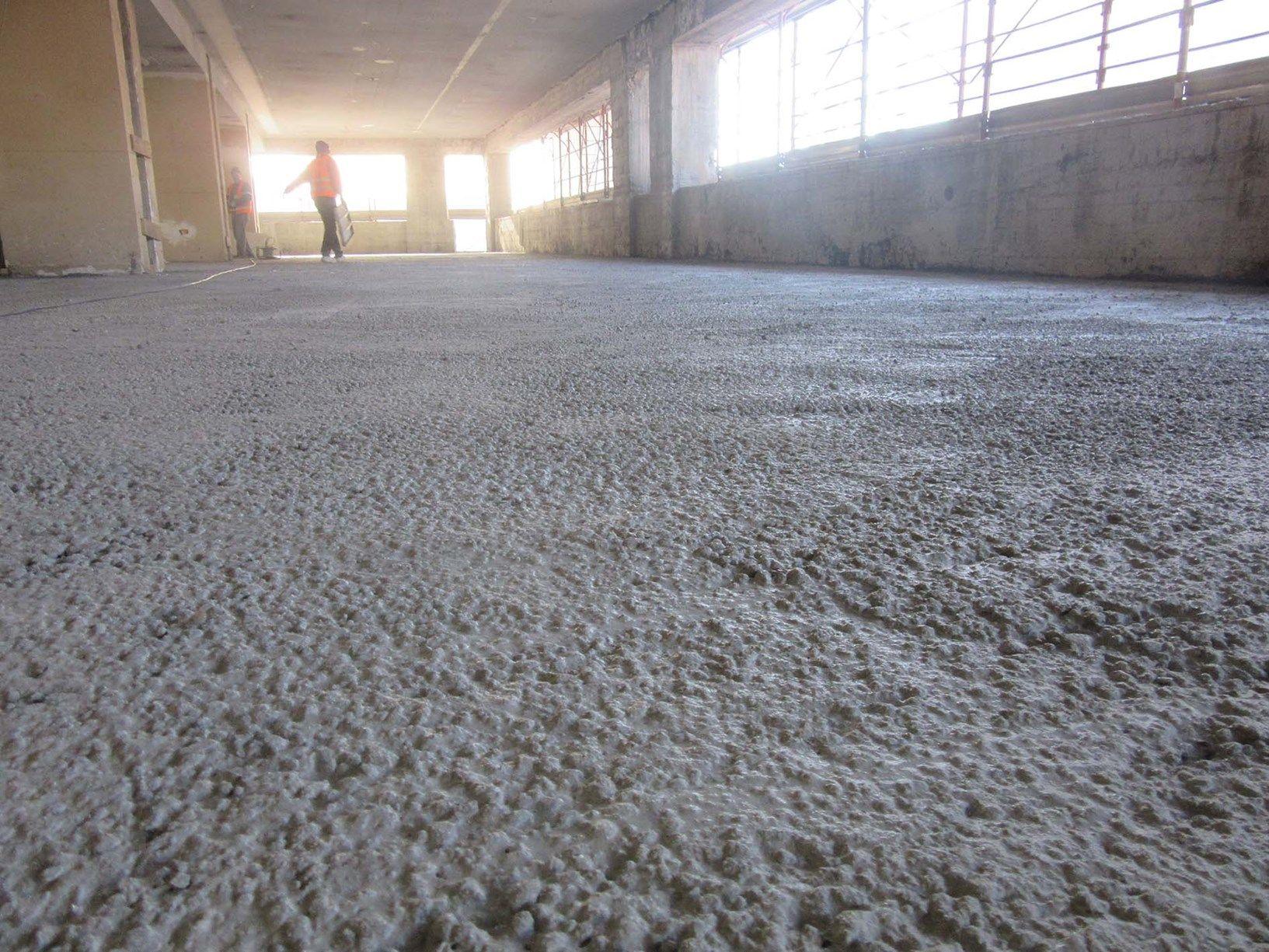 Ripristino Solaio Latero Cemento laterlite per il consolidamento dei solai dell'ex standa