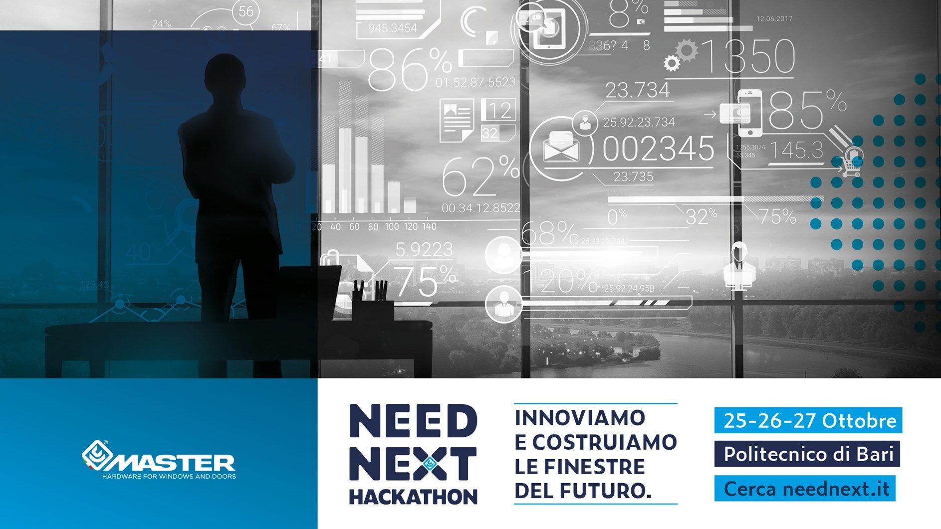 Master Italy presenta NEED NEXT Hackathon: innoviamo e costruiamo le finestre del futuro