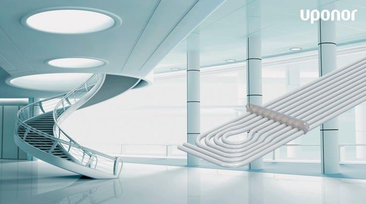 Uponor Thermatop M: il top per la climatizzazione radiante a soffitto