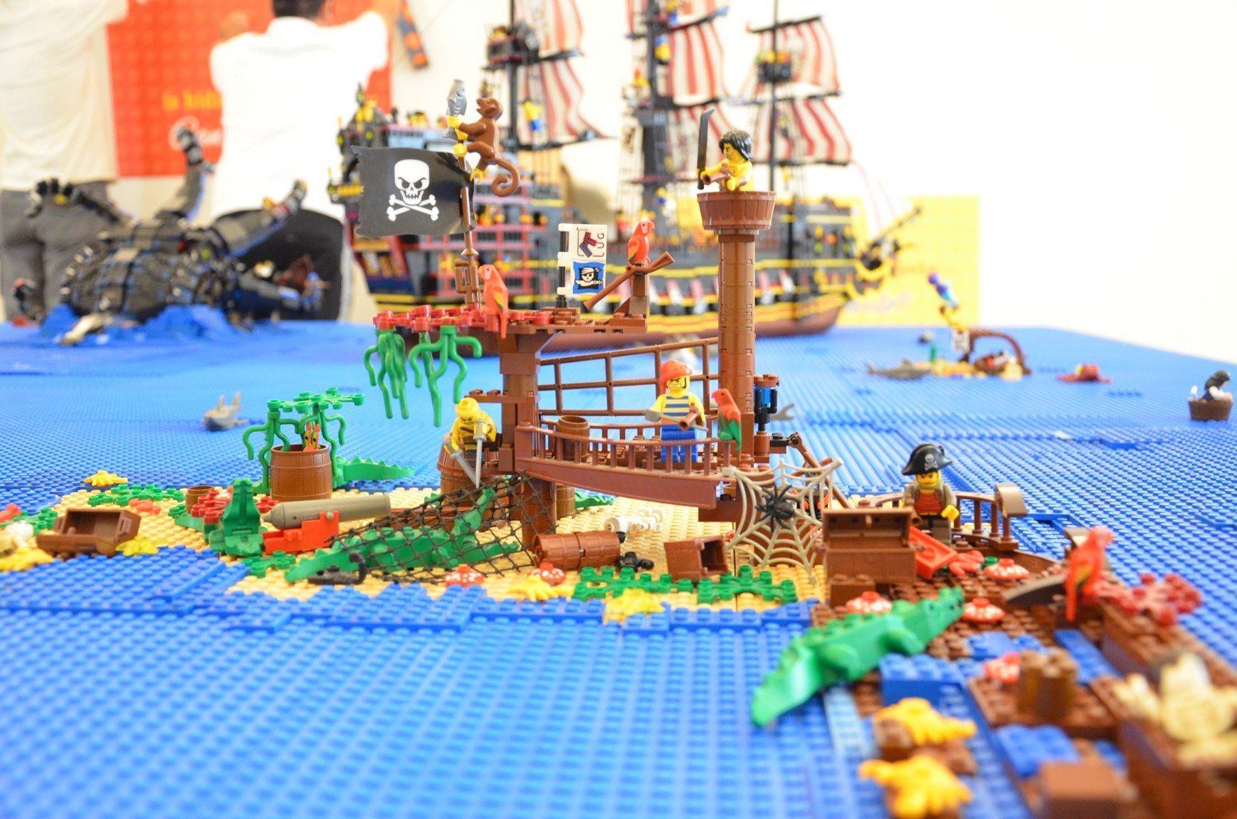 'I love Lego' al museo della Permanente