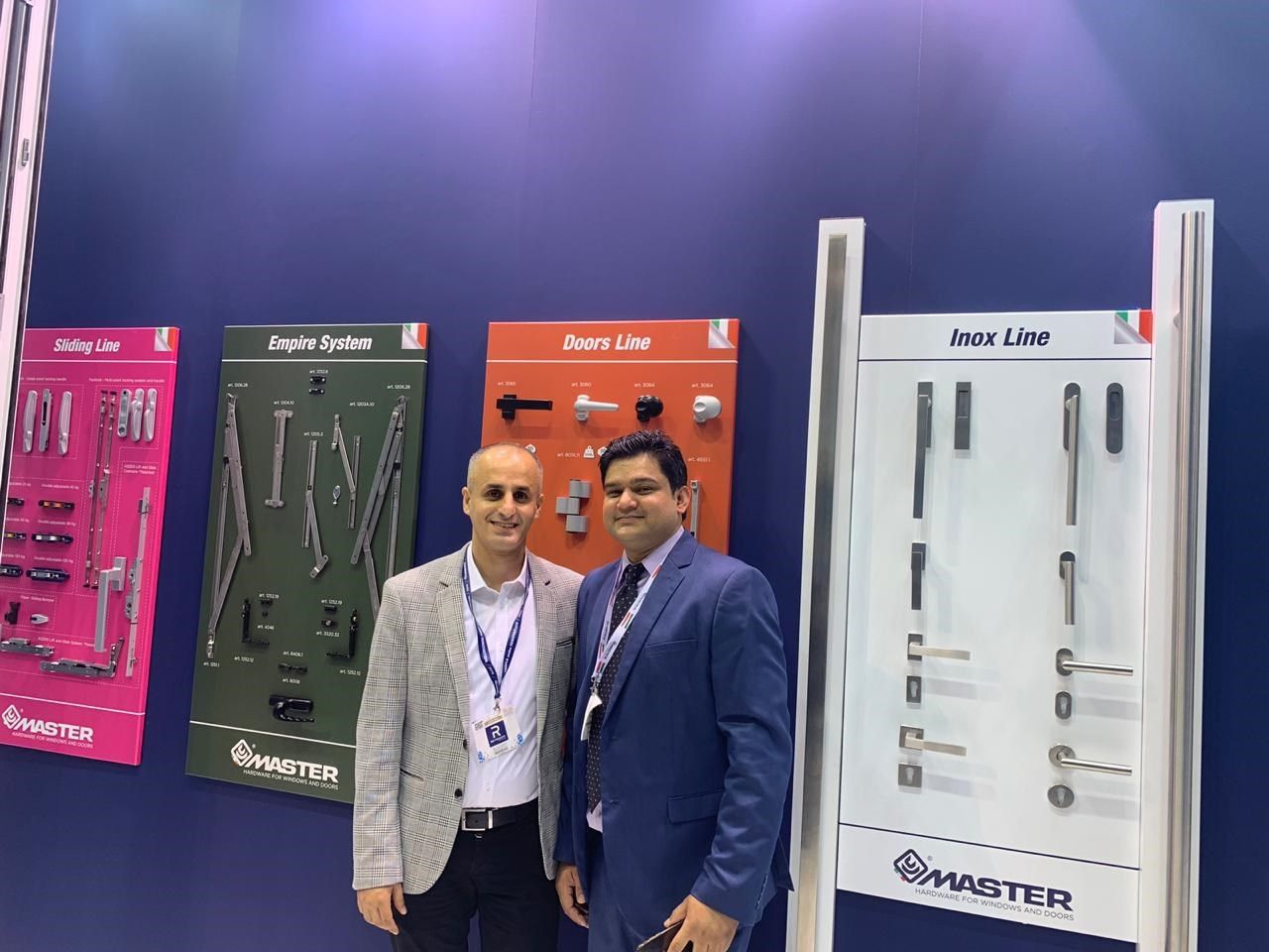Confronti positivi ed effetto love brand per Master Italy al Windows Doors & Facades di Dubai