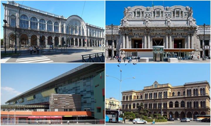 Da luoghi di transito a piazze urbane, un viaggio tra le stazioni d'Italia