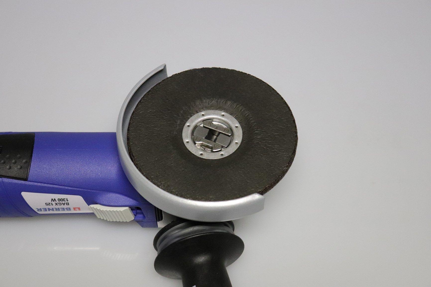 X-LOCK, le nuove smerigliatrici angolari Berner con sistema ad attacco rapido