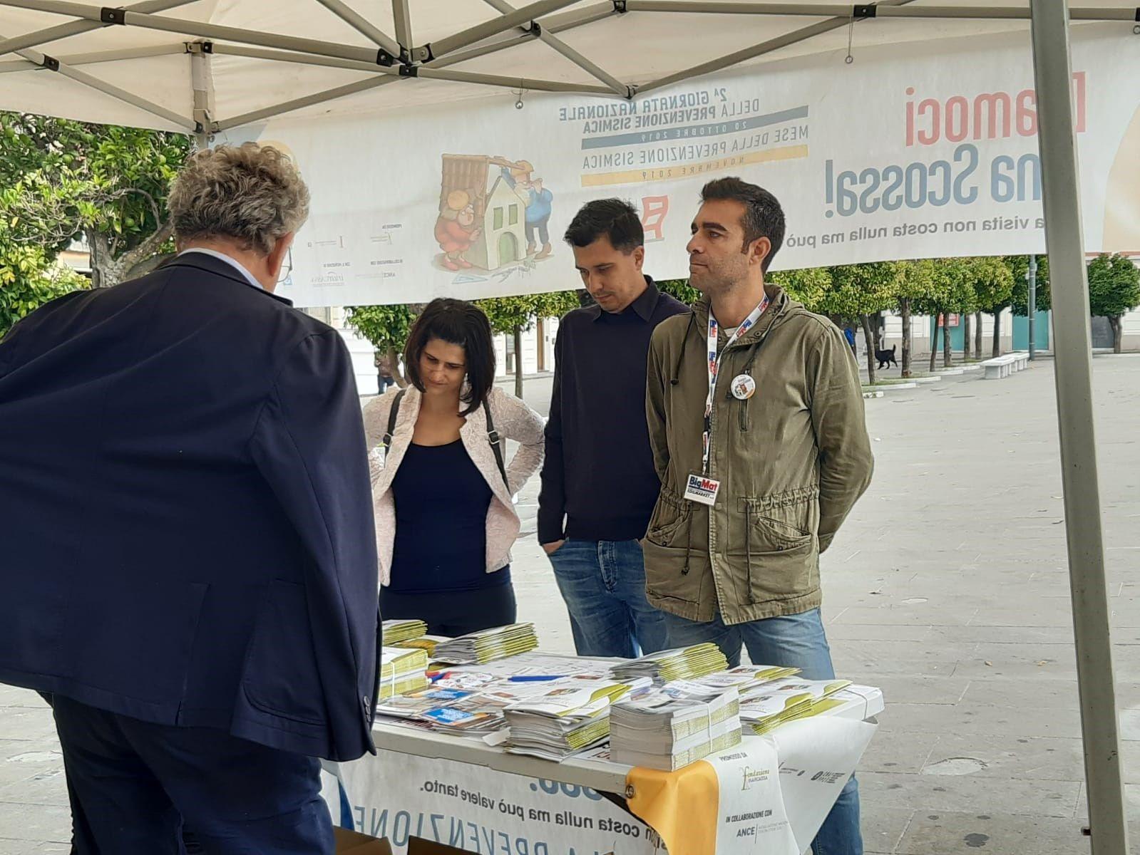 BIGMAT sponsor professionale dell'evento 'DIAMOCI UNA SCOSSA'