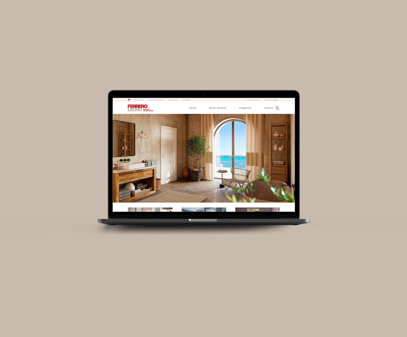 FerreroLegno lancia il sito web di nuova generazione