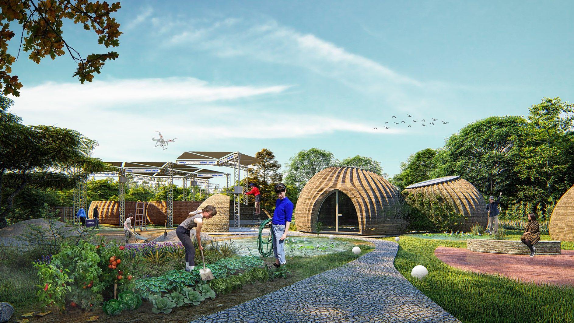 Mario Cucinella Architects e WASP