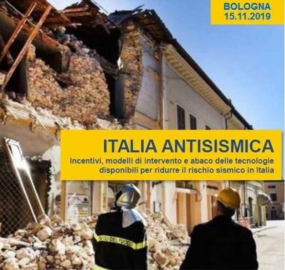 ECOSISM, CRESME e ISI Vi invitano al seminario 'Italia Antisismica'