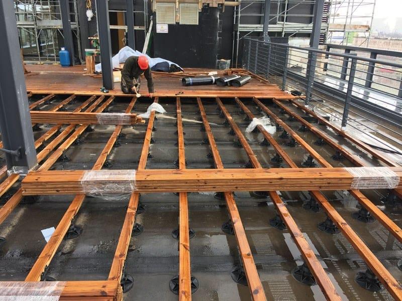 Stiferite per la ristrutturazione profonda per l'headquarters Allianz a Trieste