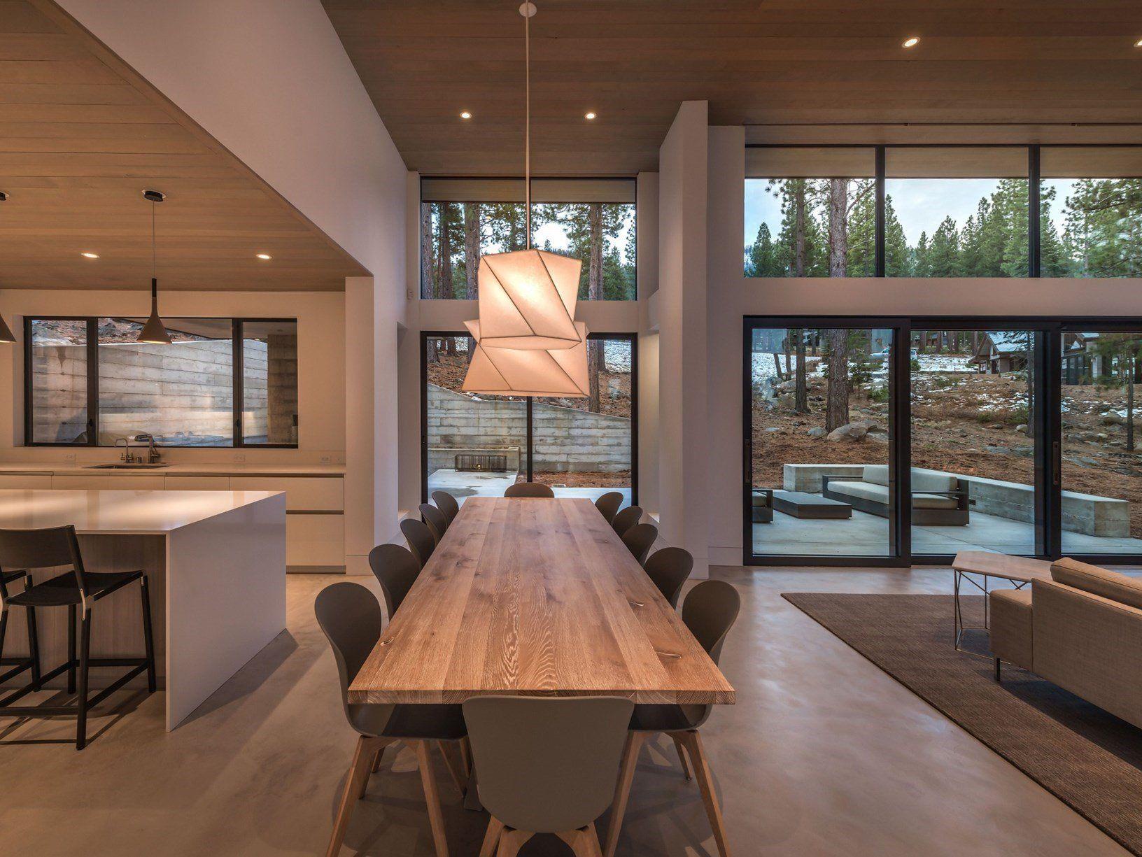 Ideal Work® per un cottage sul lago di Tahoe in California