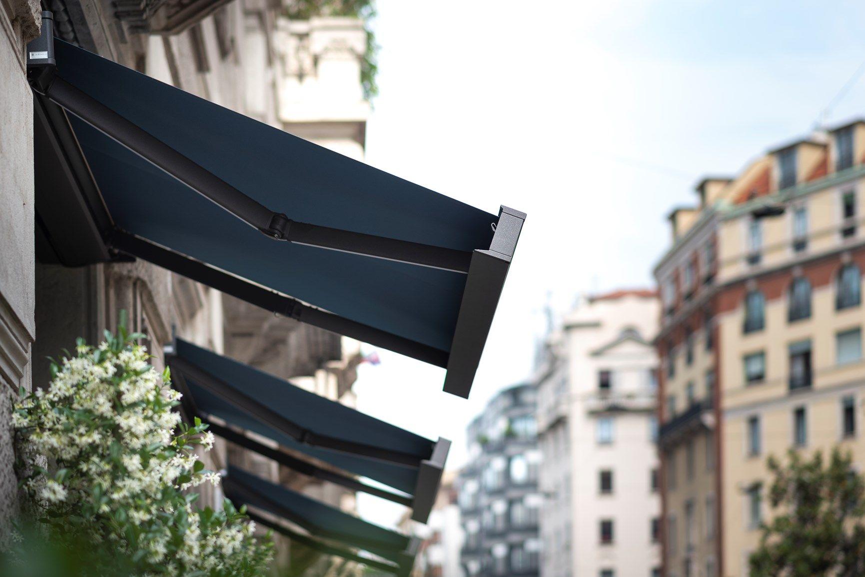 KE Outdoor Design per le vetrine del Plato Chic Superfood a Milano