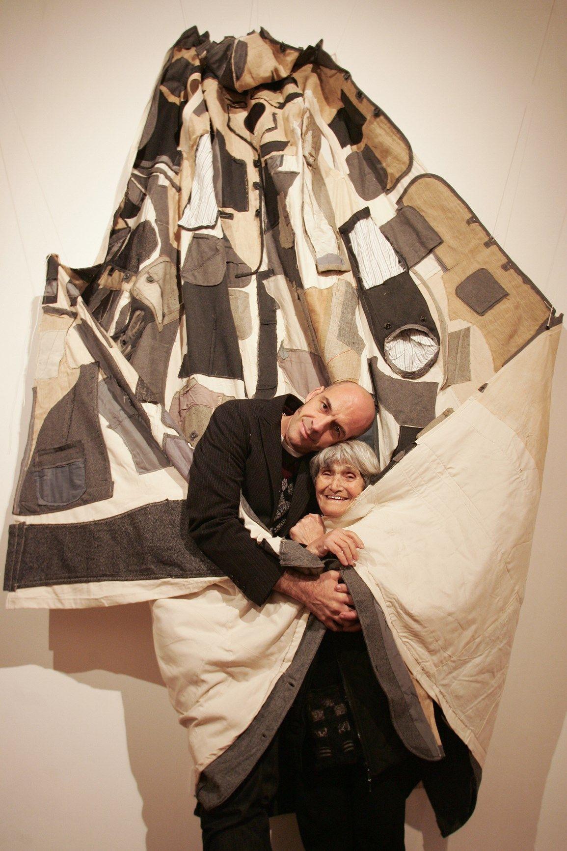 Maria Lai e Antonio Marras Ulassai 2006 ©daniela zedda