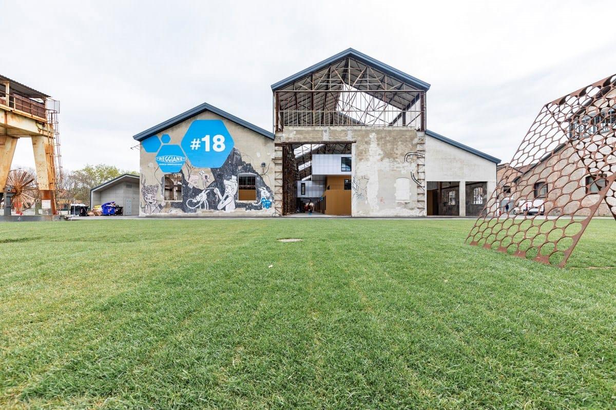 Il Capannone 18 - Parco Innovazione nelle Ex Officine Meccaniche Reggiane vince il Trofeo Gyproc Italia