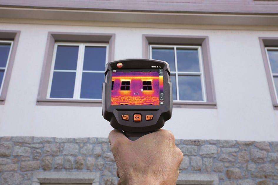 Consulenza energetica con le termocamere Testo