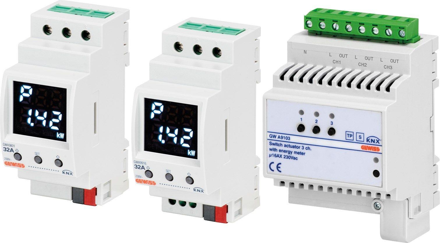 Gewiss presenta una nuova serie di dispositivi KNX per la gestione dell'energia