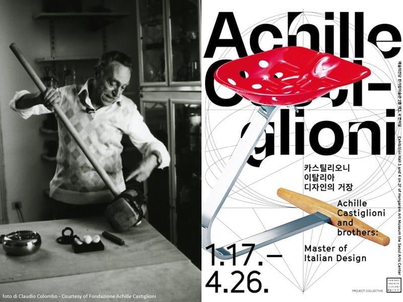 'Achille Castiglioni and brothers' vola a Seoul