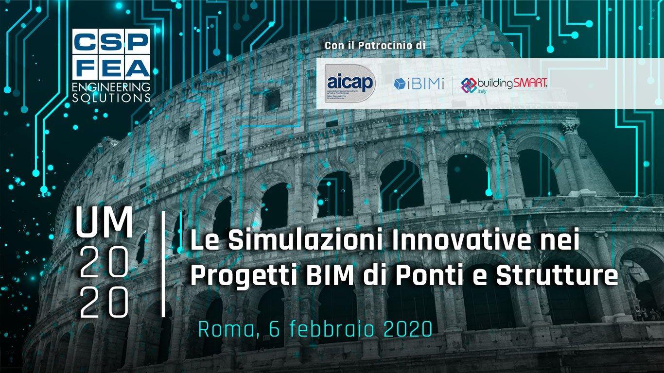Le Simulazioni Innovative per Progetti BIM di Ponti e Strutture