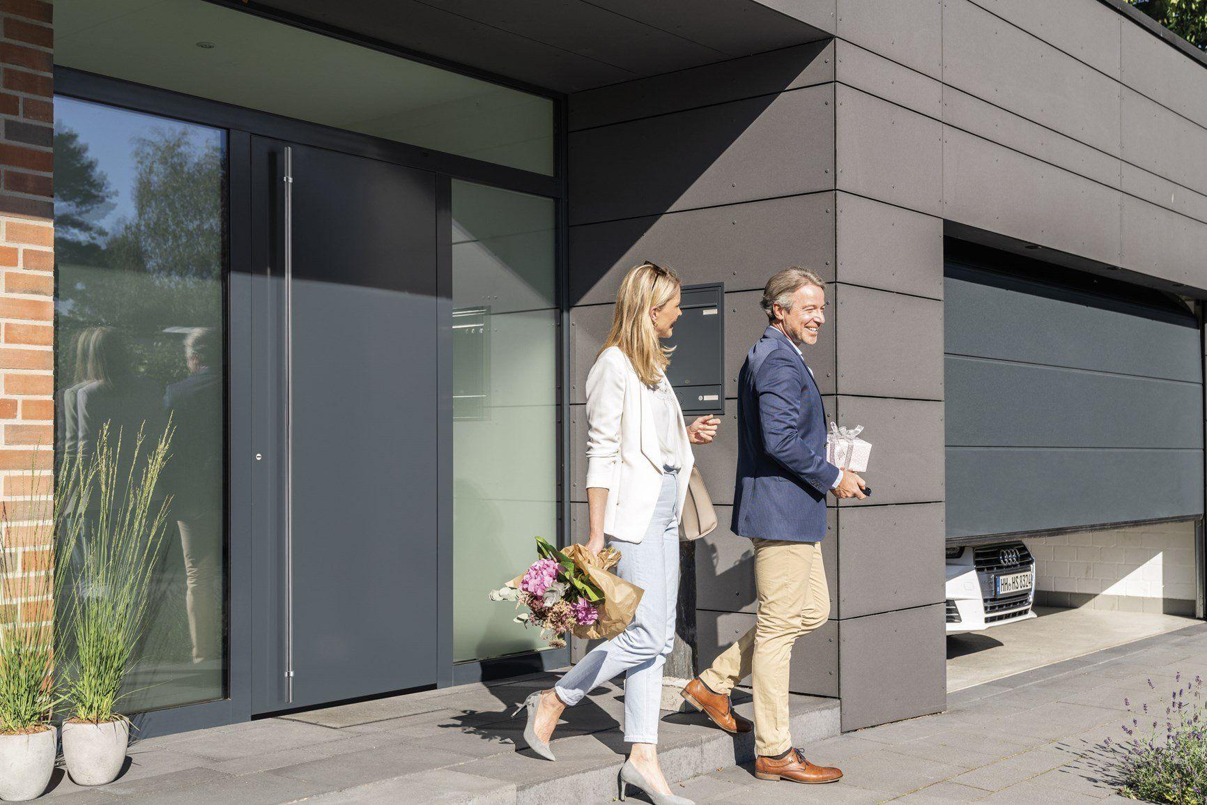 Nuova porta d'ingresso ThermoPlan Hybrid Hörmann