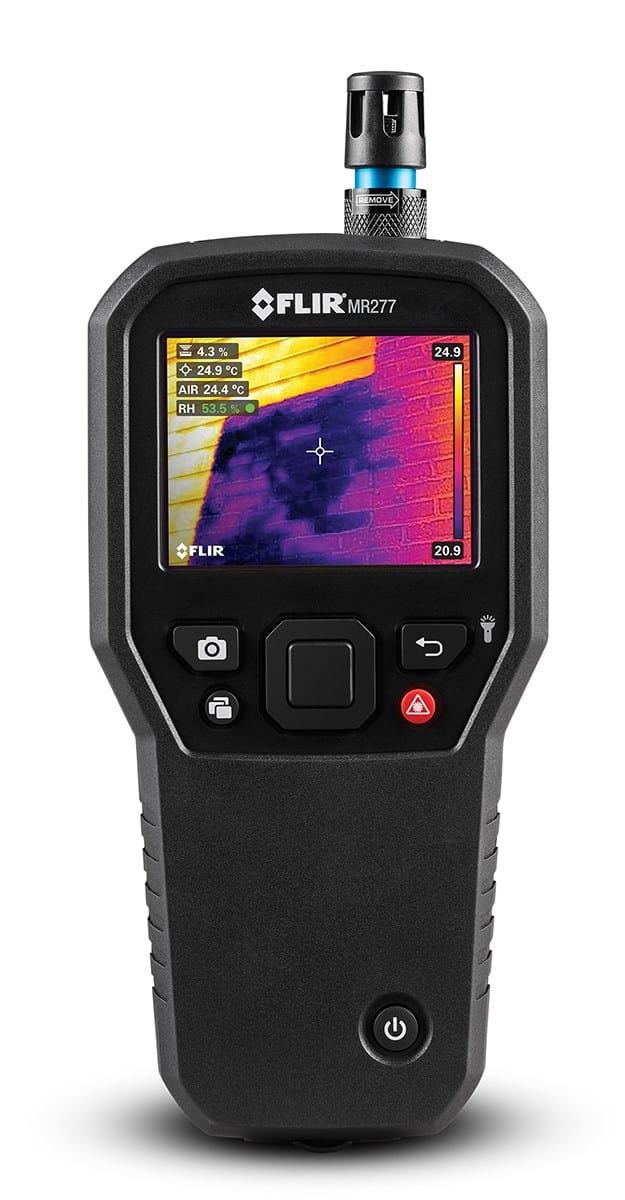 FLIR presenta il primo sistema di ispezione termica per l'edilizia: FLIR MR277
