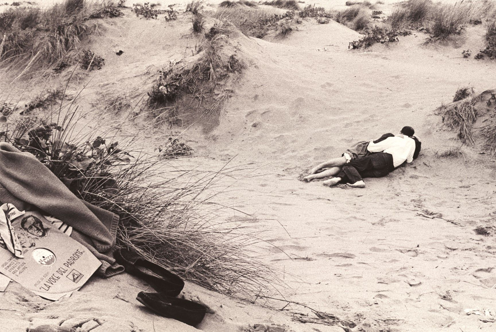 Gianni Berengo Gardin, Venezia. Il lido, 1958 © Gianni Berengo Gardin - Courtesy Fondazione Forma per la Fotografia