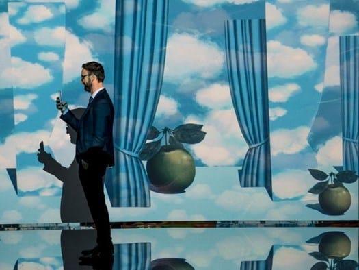 'Inside Magritte' a Firenze fino al 1°marzo