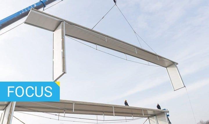 Strutture prefabbricate per realizzare edifici