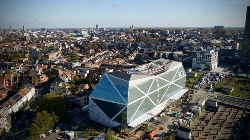Gand Diamond: in Belgio, un 'gioiello di uffici' grazie alle soluzioni Renolit