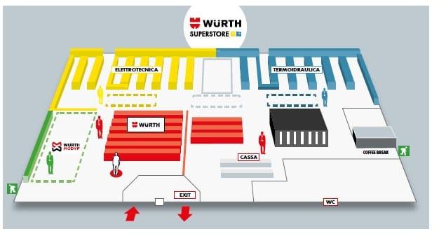 Würth annuncia un nuovo negozio dedicato interamente ai professionisti del mondo elettrico e termosanitario