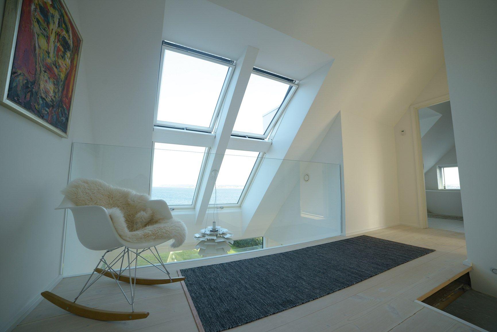Prodotti FAKRO impiegati in una residenza danese