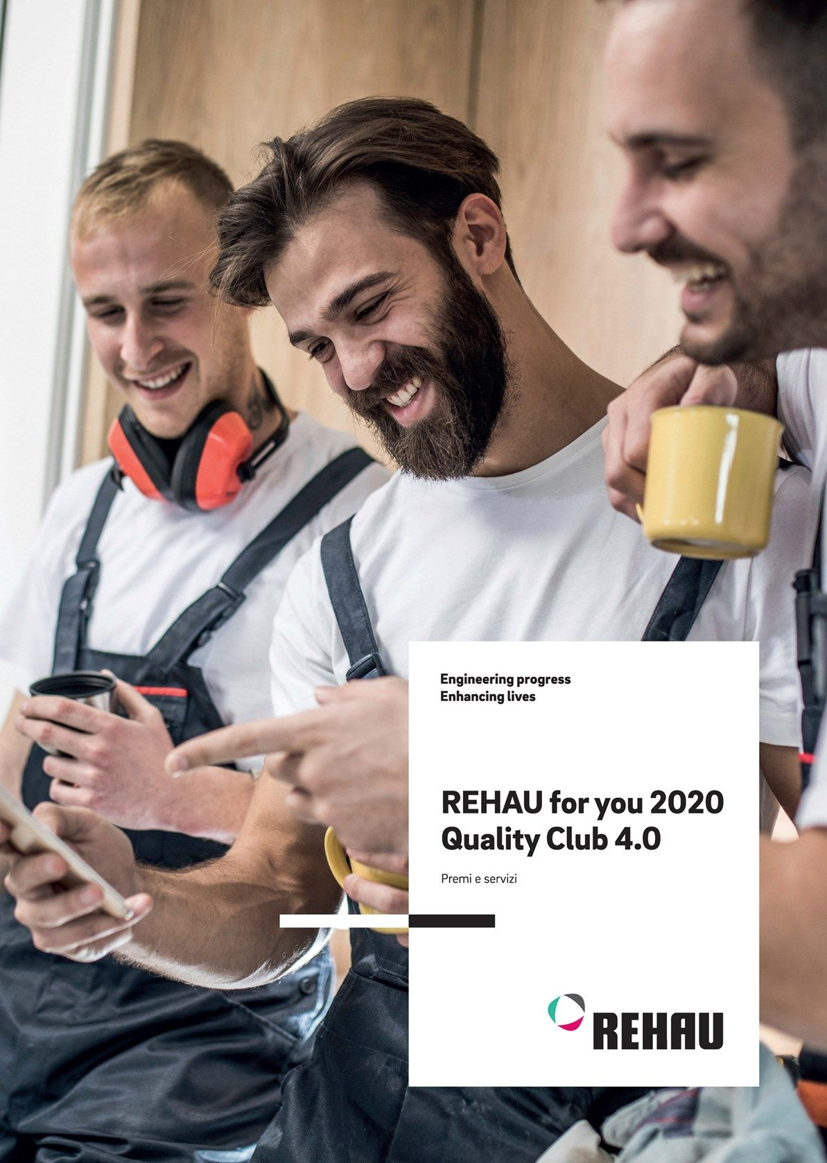 Con l'operazione REHAU For You 2020, nuovi premi esclusivi per gli installatori che scelgono REHAU