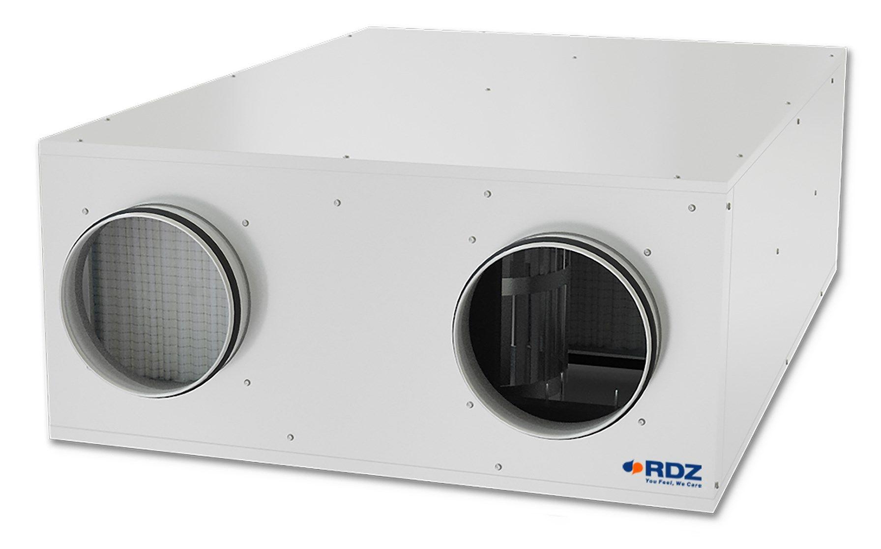 Da RDZ tre nuove unità di ventilazione meccanica per uso residenziale