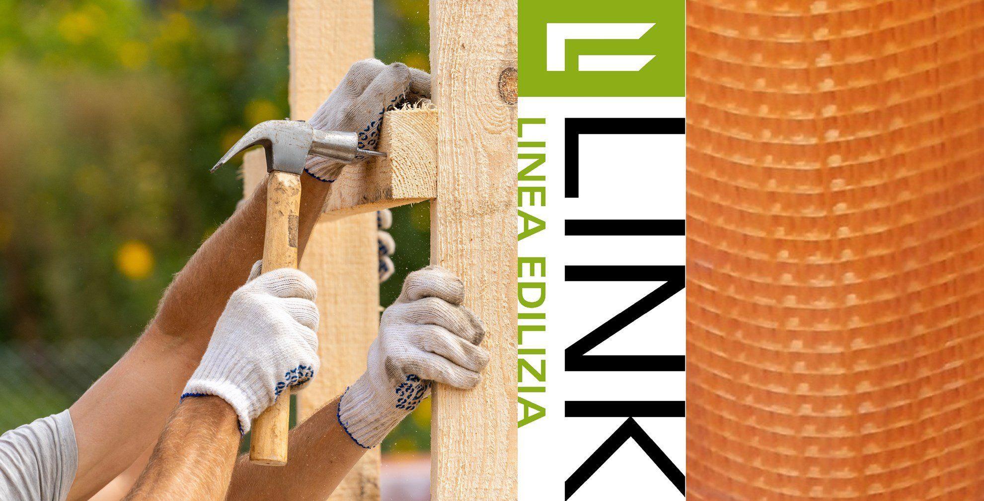 Link Industries: le reti in fibra di vetro per di rinforzo con intonaco armato