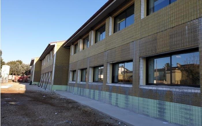 Ecosism per l'adeguamento sismico e l'efficientamento energetico di una scuola