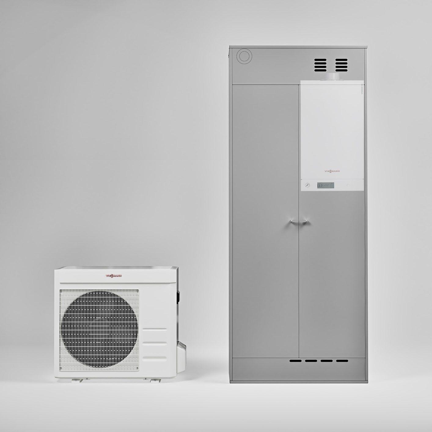 Pompa Di Calore Ventilconvettori nuove pompe di calore da incasso viessmann: tanto spazio in