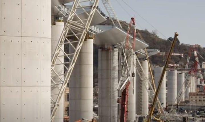 Ponte Genova, un video svela le tecniche di realizzazione