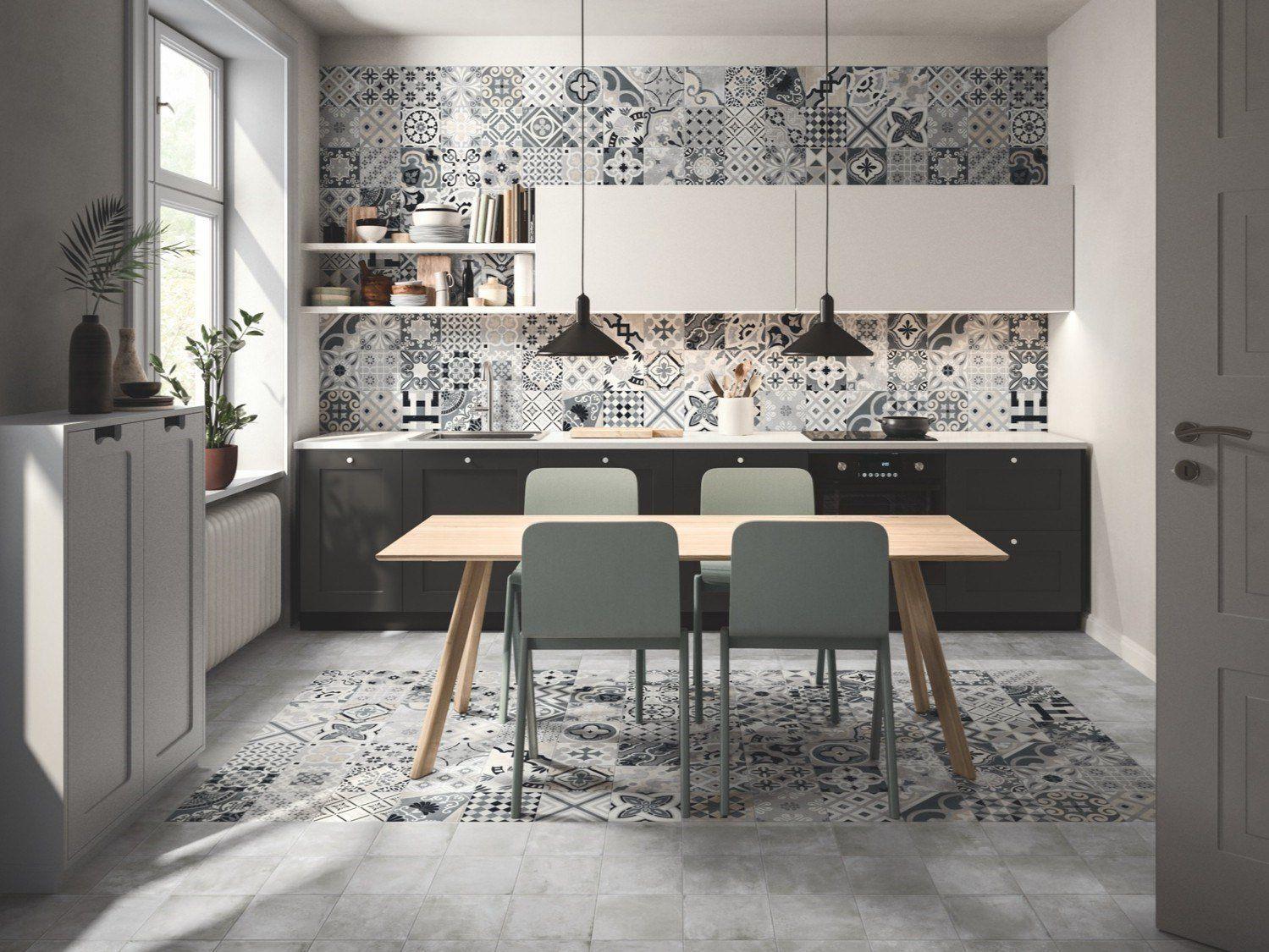 Gres Porcellanato Piastrelle Cucina rivestimenti in gres porcellanato per la cucina