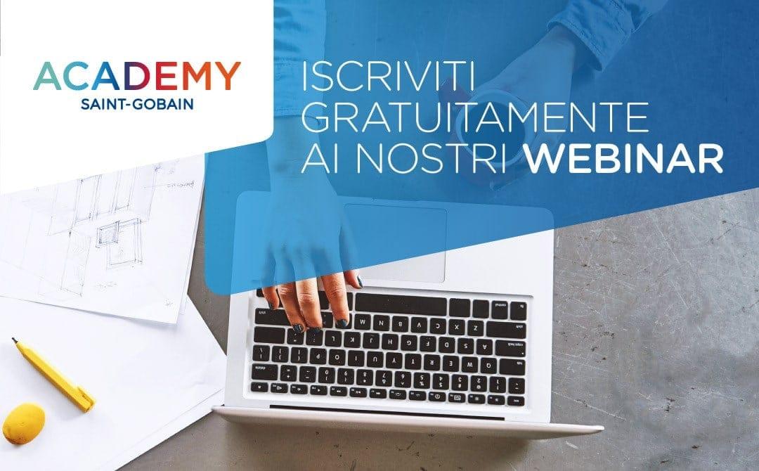 Saint-Gobain Italia:  al via il programma di formazione online gratuita con crediti formativi per gli architetti