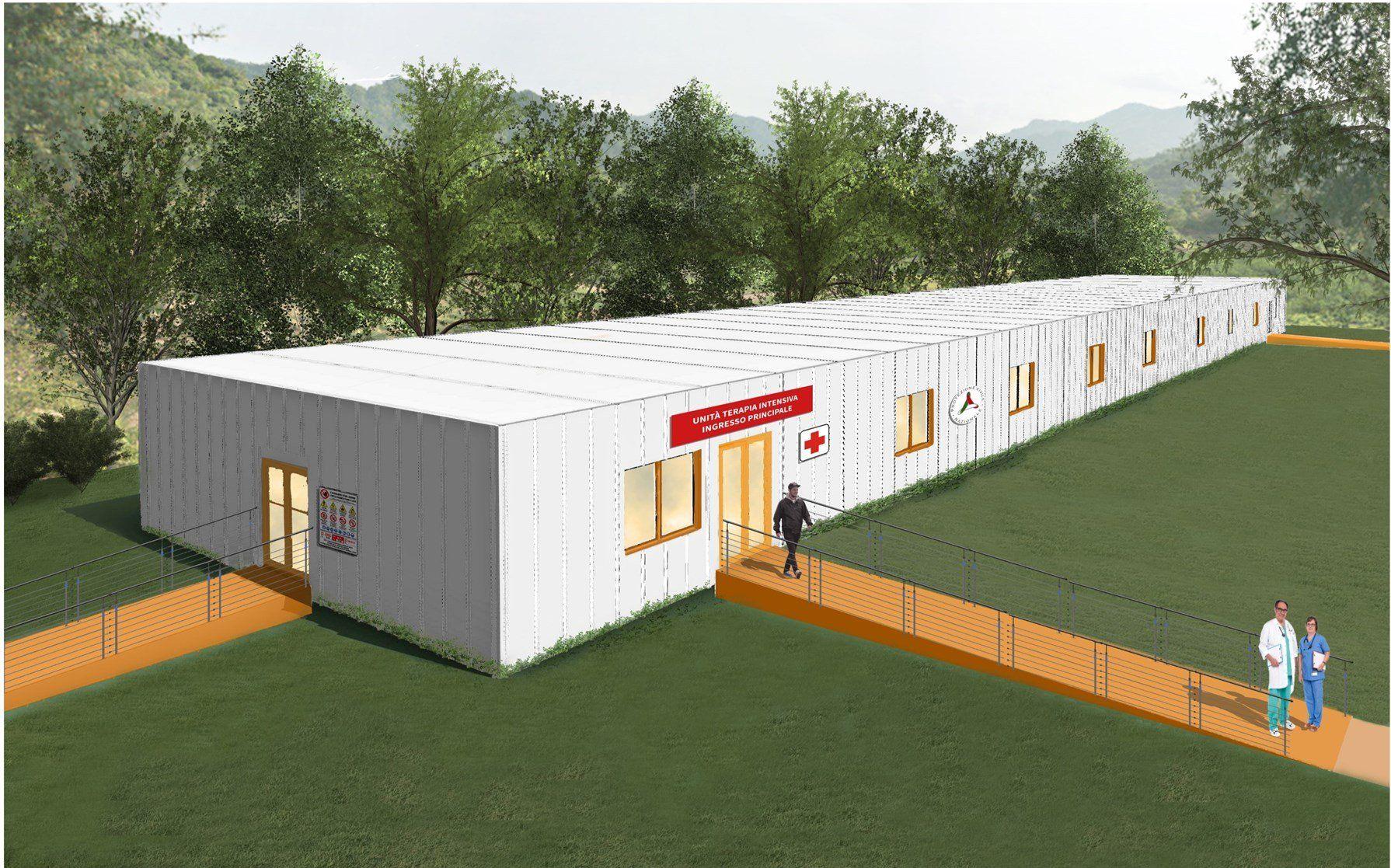 Modulo ospedaliero polifunzionale: la soluzione proposta da Manni Green Tech per l'emergenza Covid-19