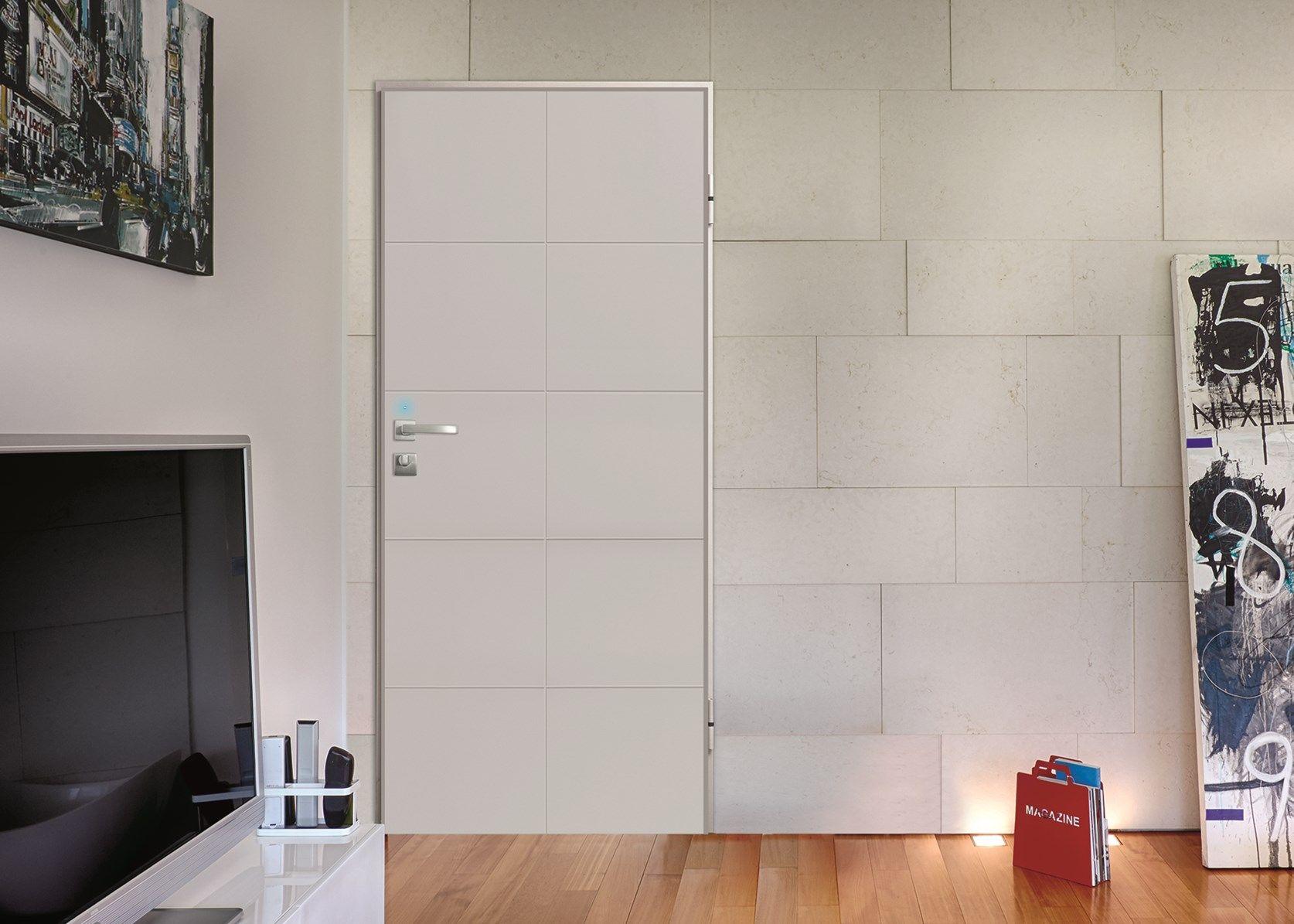 Dierre Next Elettra: la porta blindata diventa hub della sicurezza