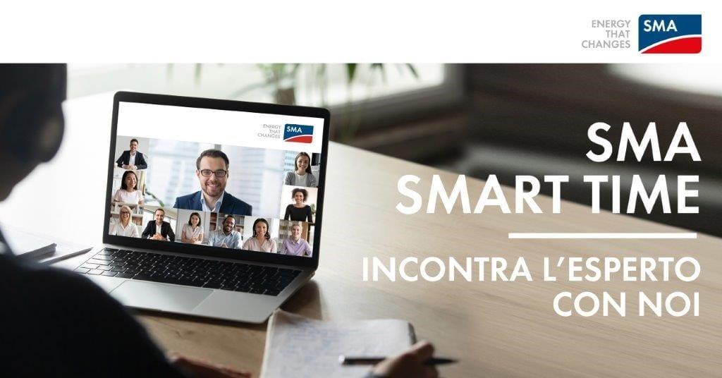 Nascono gli SMA Smart Time: incontri esclusivi con gli esperti
