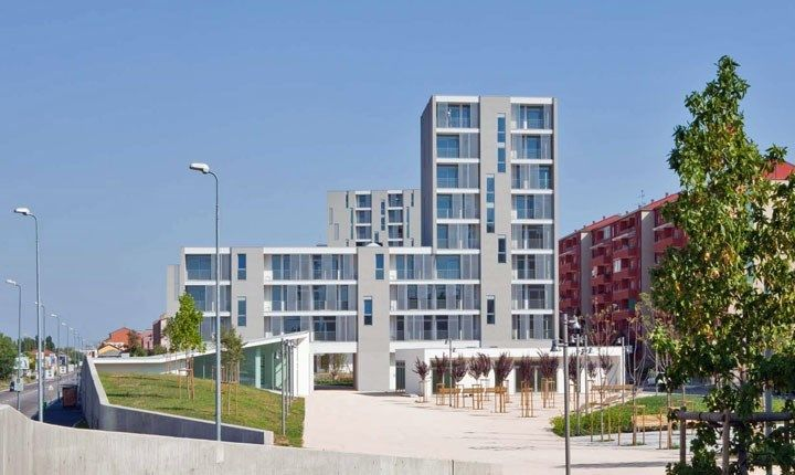 Residenze sociali, parco e servizi al quartiere Gallarate - Milano, MAB Arquitectura - Premio nazionale di architettura Inarch-Ance 2011