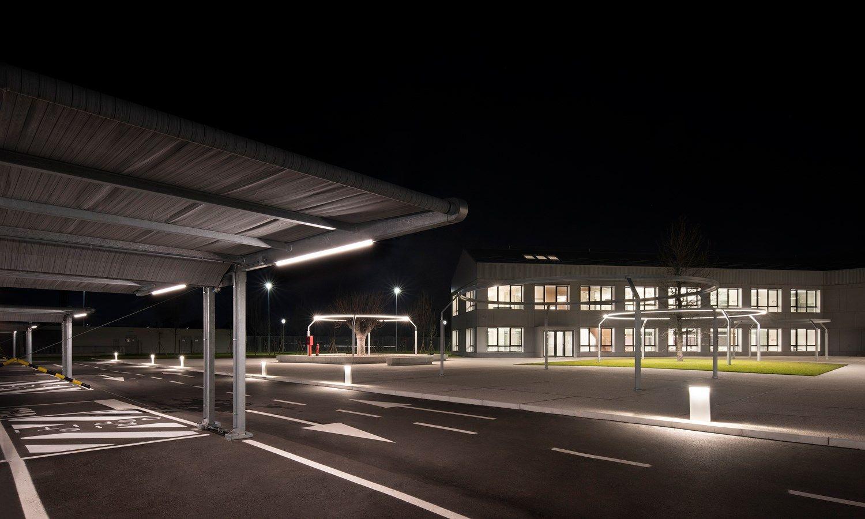 Pensiline per auto Kopron, tra i parcheggi 'ombreggianti' più grandi d'Europa
