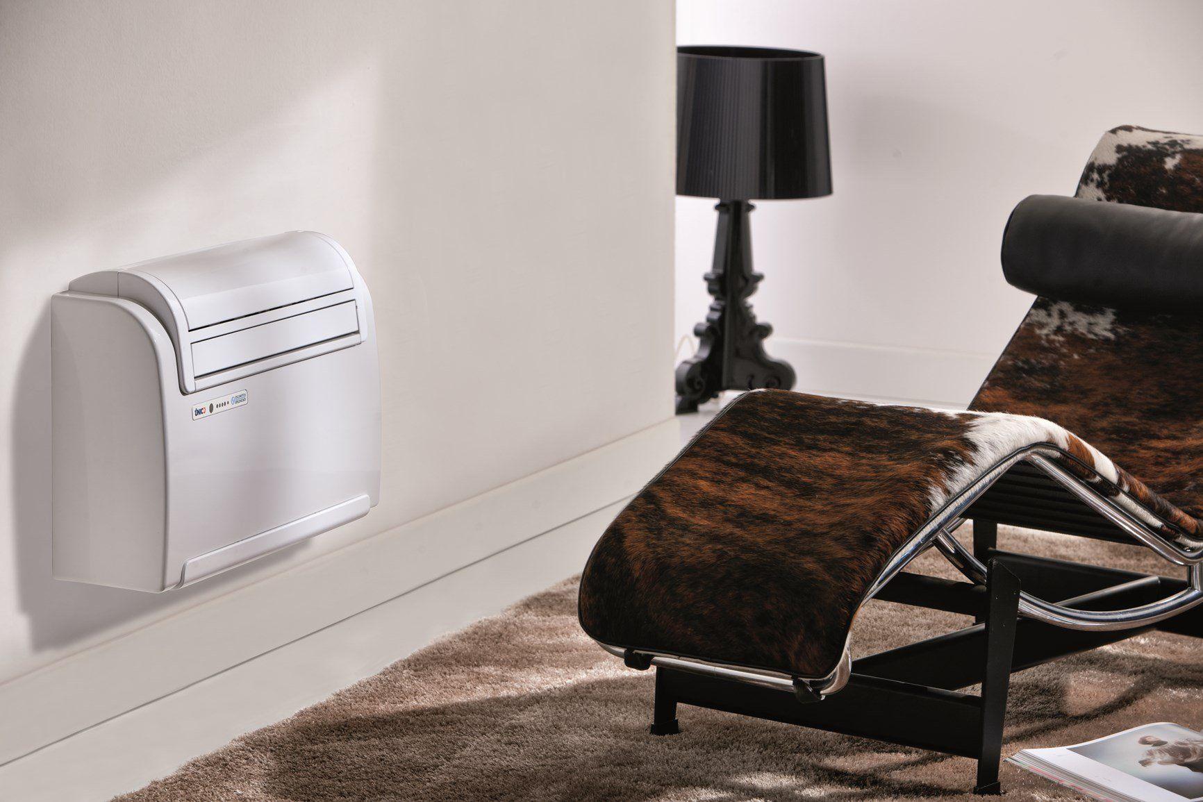 Olimpia Splendid introduce su Unico®, climatizzatore senza unità esterna, il refrigerante rigenerato