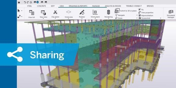 Smart working con Tekla Model Sharing