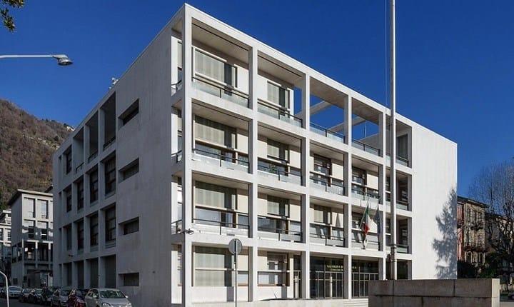 Palazzo Terragni a Como. Fonte: Agenzia del Demanio