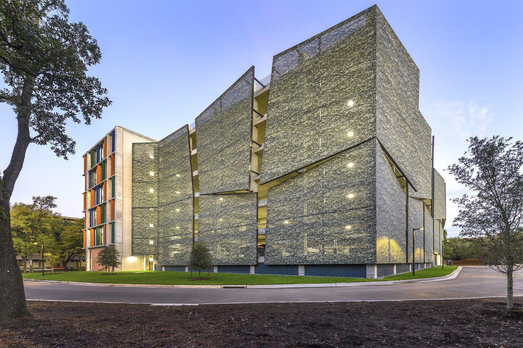 Parcheggio, Rice University di Houston - Copyright: 2017 G. LYON PHOTOGRAPHY, Inc.