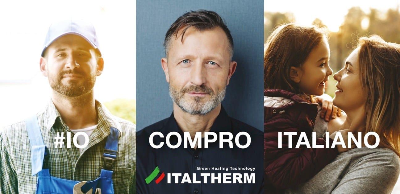 Fase 2, Italtherm lancia la campagna #IoComproItaliano