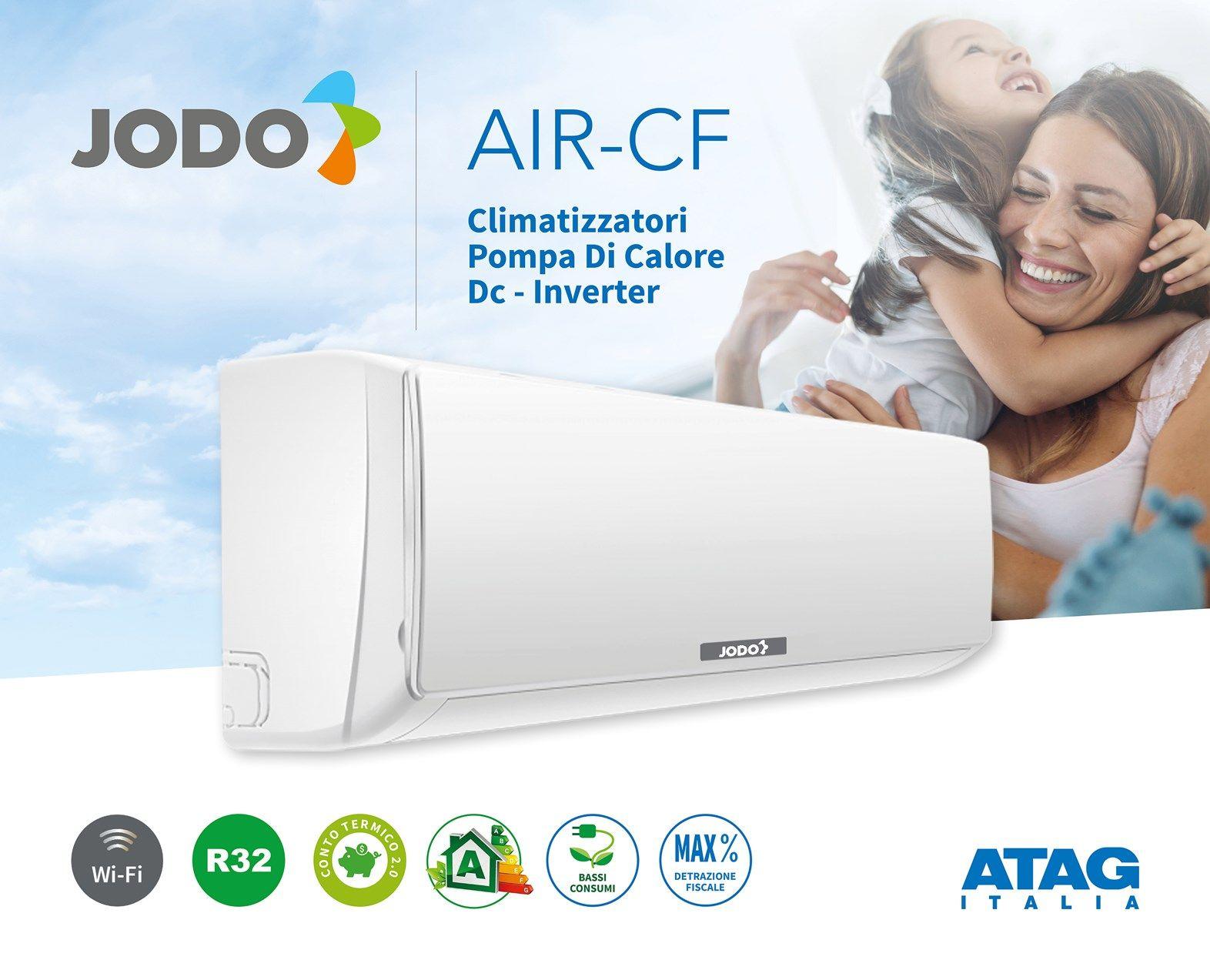 JODO AIR-CF: la soluzione ideale per garantire il massimo comfort
