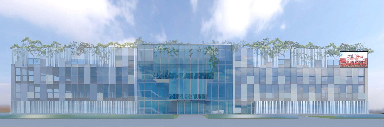 Laterlite per il nuovo centro direzionale Marr